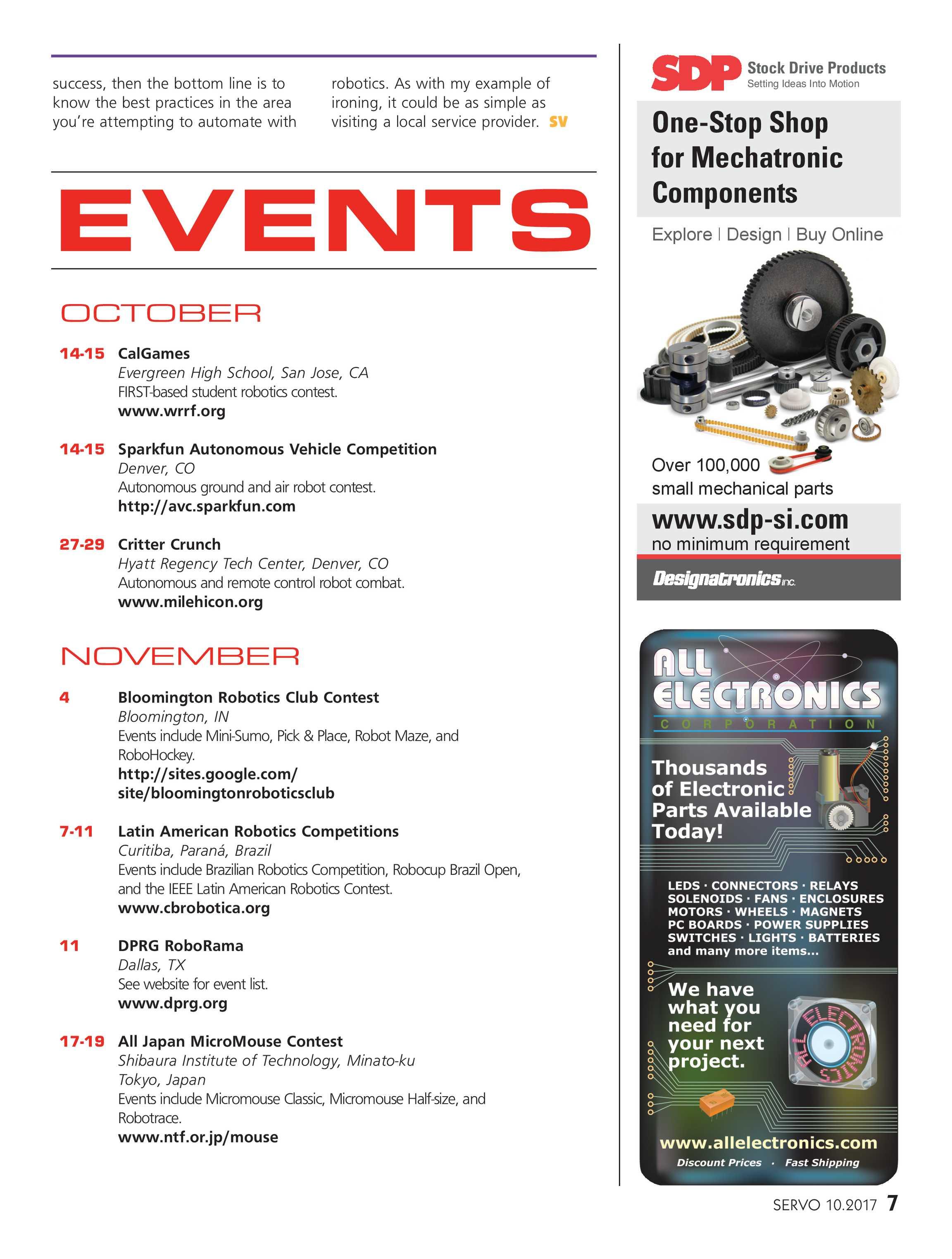 Servo - October 2017 - page 7