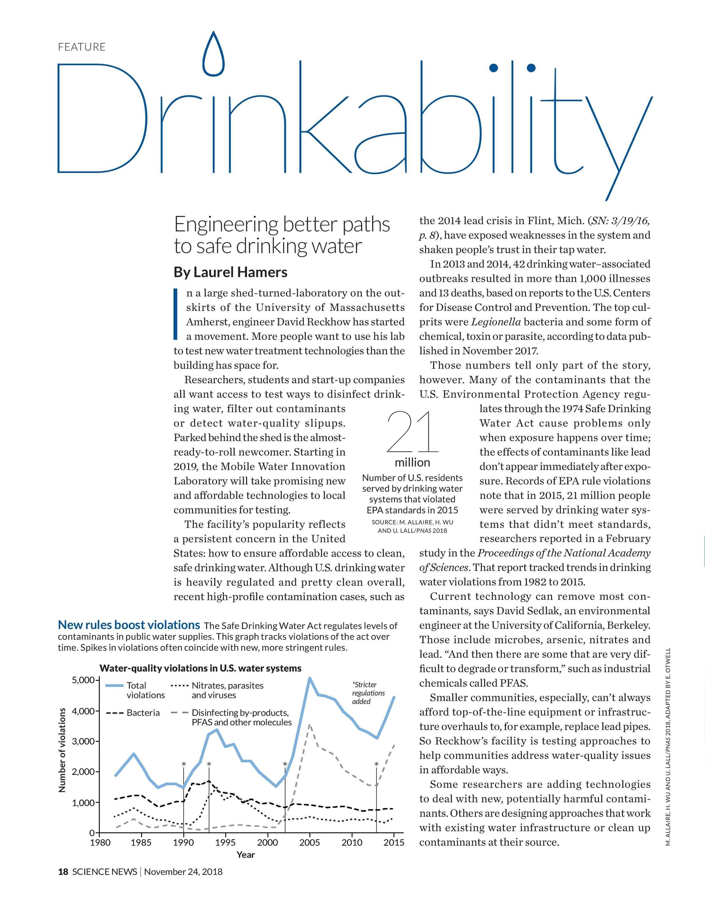Science News - November 24, 2018 - page 17