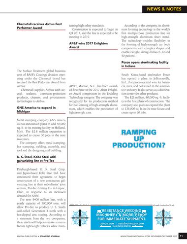 Stamping Journal - November/December 2017 - Page 10-11